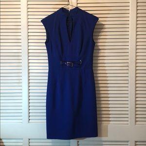 Size 0 Royal Blue Trina Turk Interview Dress